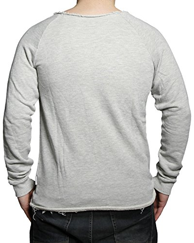 Boom Bap Sweater FUCKOFF SWEAT BB4-0046 mixed grey Grau