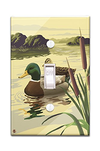 Mallard Ducks (Light Switchplate Cover)