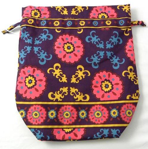 Jitney Bag - Stephanie Dawn Jitney - Bella Flora - New Quilted Handbag USA 10045-019