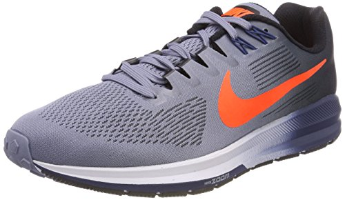 Zoom Total 406 21 Dark Nike Scarpe Running Air Structure Sky Uomo Multicolore Blue Pwnq45U7H