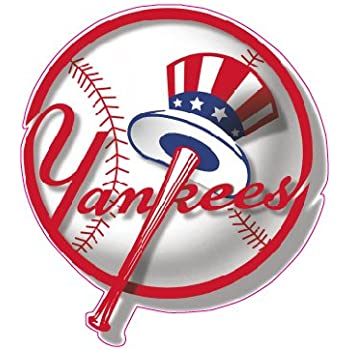 Yankees baseball decal 5 with in the united states