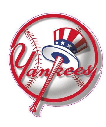 Yankees Baseball Decal 5