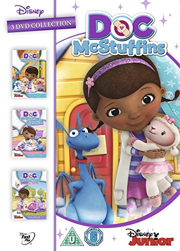 Doc McStuffins Triple Pack *** Europe Zone ***