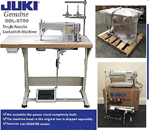 JUKI DDL-8700-Industrial Straight Stitch Sewing Machine,Servo Motor preassembled at The Table