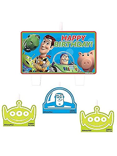 Toy Story Mini Molded Candles - 4/Pkg. ()