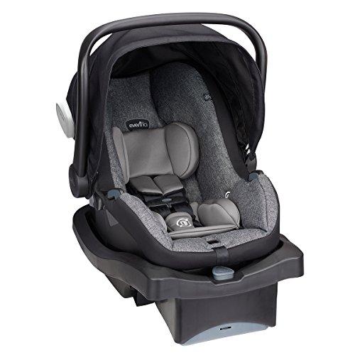 Evenflo LiteMax 35 Platinum Infant Car Seat, Portland Tweed