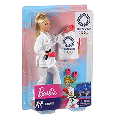 Barbie Karate Doll: Toys & Games