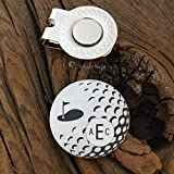 Best Sierra Metal Design Birthday Gift For Men - Monogram Golf Ball Marker Personalized Birthday Gift For Review