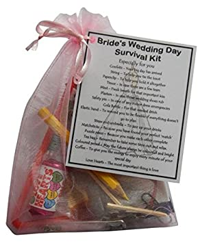 Bride S Wedding Survival Kit Great Gift For Bride To Be Bride