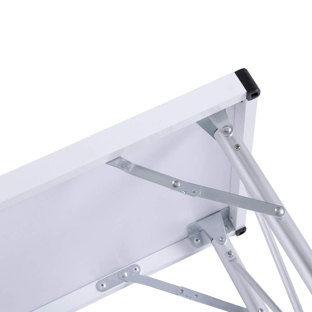 Aluminum Alloy Portable Folding Camping Table Laptop Desk for Picnic/Working by DOVOK (Image #3)