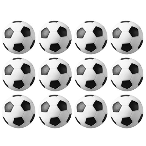 Gimp Horse Costume (Mememall Fashion 12pcs 36mm Soccer Table Foosball Replacement Balls Wholesale lot of 12 Set USA)