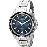 Citizen BM6929-56L Men's Quartz Titanium Casual Watch (Silver-Toned)