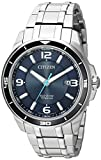 Citizen Men's ' Quartz Titanium Casual Watch, Color Silver-Toned (Model: BM6929-56L)