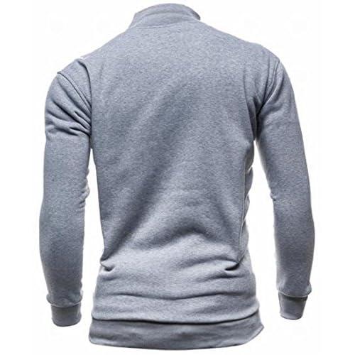 Yayu Men Casual Irregular Hem Slim Fit Button Down Dress Shirt