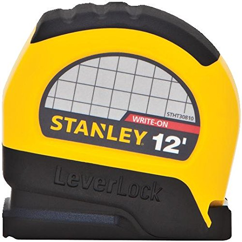 Stanley STHT30810 Lever Lock Tape Rule, 12' x (12' Lever Lock Tape)