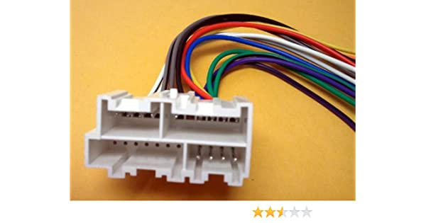 amazon com: stereo wire harness chevy pickup 88 89 90 91 92 93 (car radio  wiring installa : automotive
