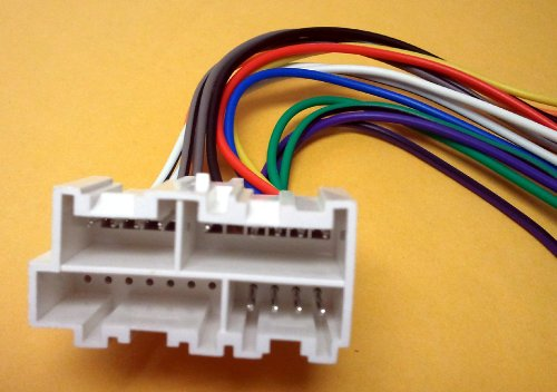51GrR1u0oWL amazon com stereo wire harness chevy suburban 95 96 97 98 (car 98 suburban stereo wiring diagram at gsmx.co