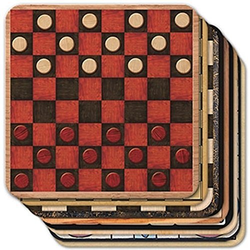 Epic Products Game Boards Coasters (Set of 25)