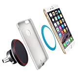 Auto Wireless Charging Ytech- Magnetic QI Wireless Car Charger IPhone X 8 8Plus - Car Wireless Charger  Samsung Galaxy S8/S8+/S8Plus/S7/S7Edge/S6 and All QI Devices- Wireless IPhone Charger for Car