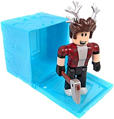Roblox Mystery Box Series 3 - Amazoncom Roblox Series 3 Lumberjack Tycoon Action Figure