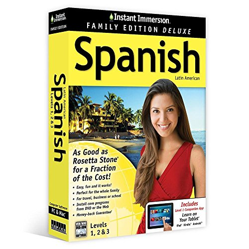 Instant Immersion Spanish  Level 1  2   3  Family Edition  Spanish And English Edition