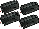 4PK Replacement CE505X Toner Cartridge For HP LaserJet P2055 P2055DN, Office Central