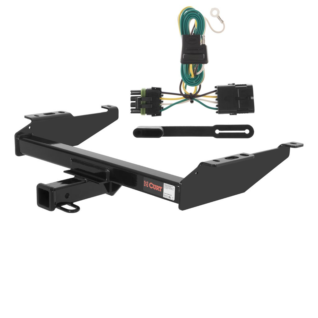 Curt Class 4 Trailer Hitch Bundle With Wiring For Chevy Equinox Chevrolet Gmc Pickup 14081 55315 Automotive