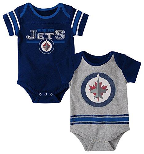 "NHL Newborn & Infant ""Definitive"" 2Piece Onesie Set – DiZiSports Store"