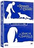 Le renard et l'enfant + La marche de l'empereur - Coffret 2 Blu-Ray [Blu-ray]