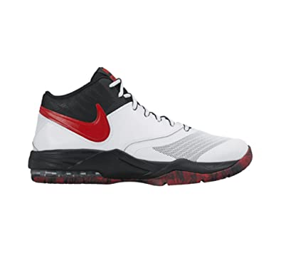 official photos 3411c f7dc6 Nike Mens Air Max Emergent Basketball Shoe White Black Dark Grey University  Red Size 11.5 M US  Buy Online at Low Prices in India - Amazon.in