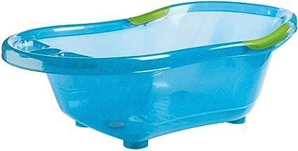 Dbb Remond Baignoire Rigide Bleue Translucide Pailletee Bleu Amazon Fr Bebes Puericulture