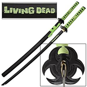 LIVING DEAD ZOMBIE APOCALYPSE KATANA SAMURAI SWORD