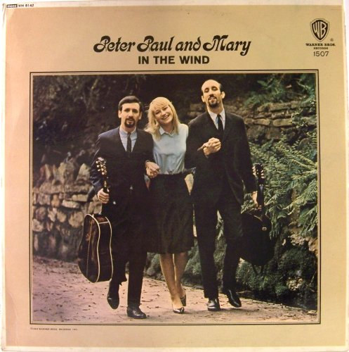 Peter, Paul And Mary In The Wind UK MONO Album