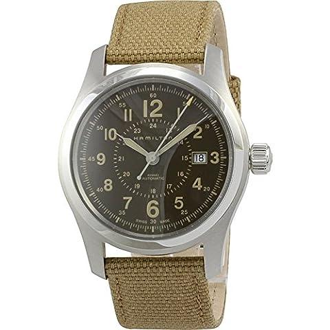 Hamilton Khaki Field Automatic Brown Dial Men's Watch H70605993 (Hamilton Khaki Field Automatic)