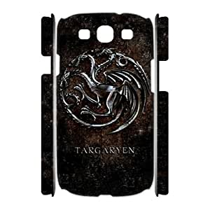 Chinese Game of Thrones Custom 3D Case for Samsung Galaxy S3 I9300,personalized Chinese Game of Thrones Phone Case