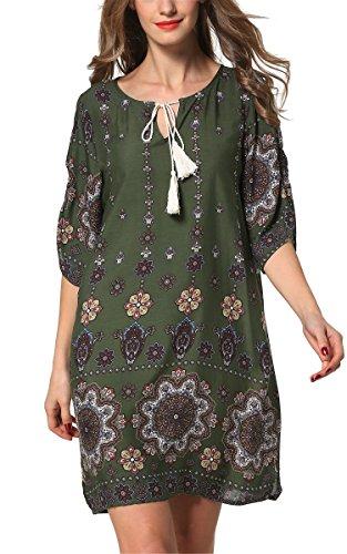 ARANEE Women's Long Sleeve Shift Dress - Top Shift