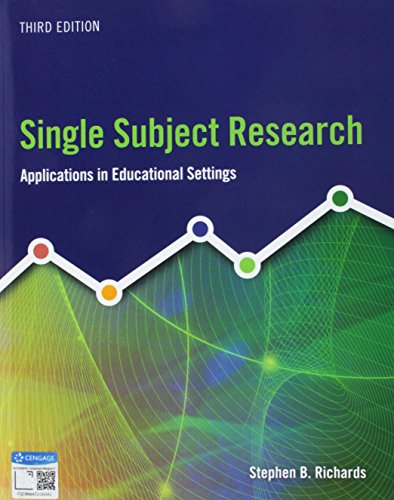 Bundle: Single Subject Research: Applications in Educational Settings, 3rd + MindTap Education, 1 term (6 months) Printe