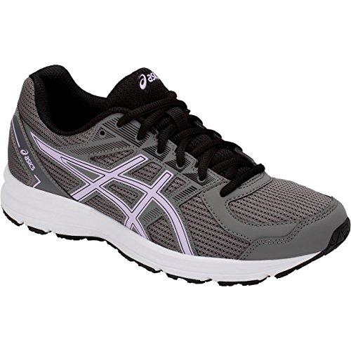 ASICS Womens Jolt Running Shoe, Carbon/Murasaki, Size 6.5