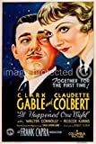 It Happened One Night 1934 Vintage Movie Poster Art Version 1 24x36