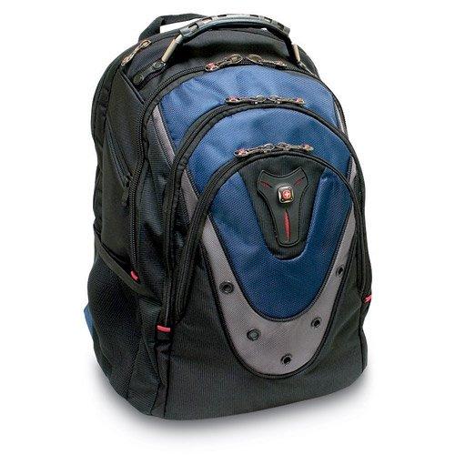 SwissGear Blue Ibex 17″ Computer Backpack, 15″L x 10″W x 19″H