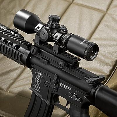 BARSKA 3-9x42 Contour Riflescope IR Mil-Dot Riflescope by Barska