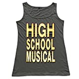 Youqian High School Musical Womens T-Shirt DeepHeather Tank Top