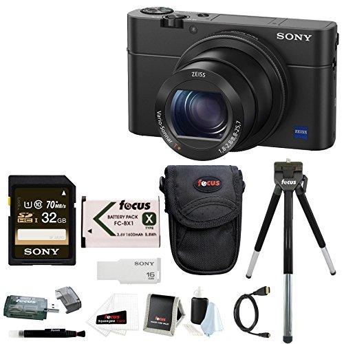 Sony Cyber-shot DSC-RX100 IV Digital Camera with Sony 32GB C