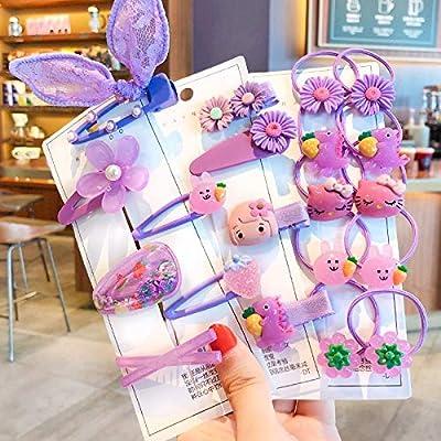 4pcs Hair Accessories Decorative Cute Adorable Hair Clips for Children
