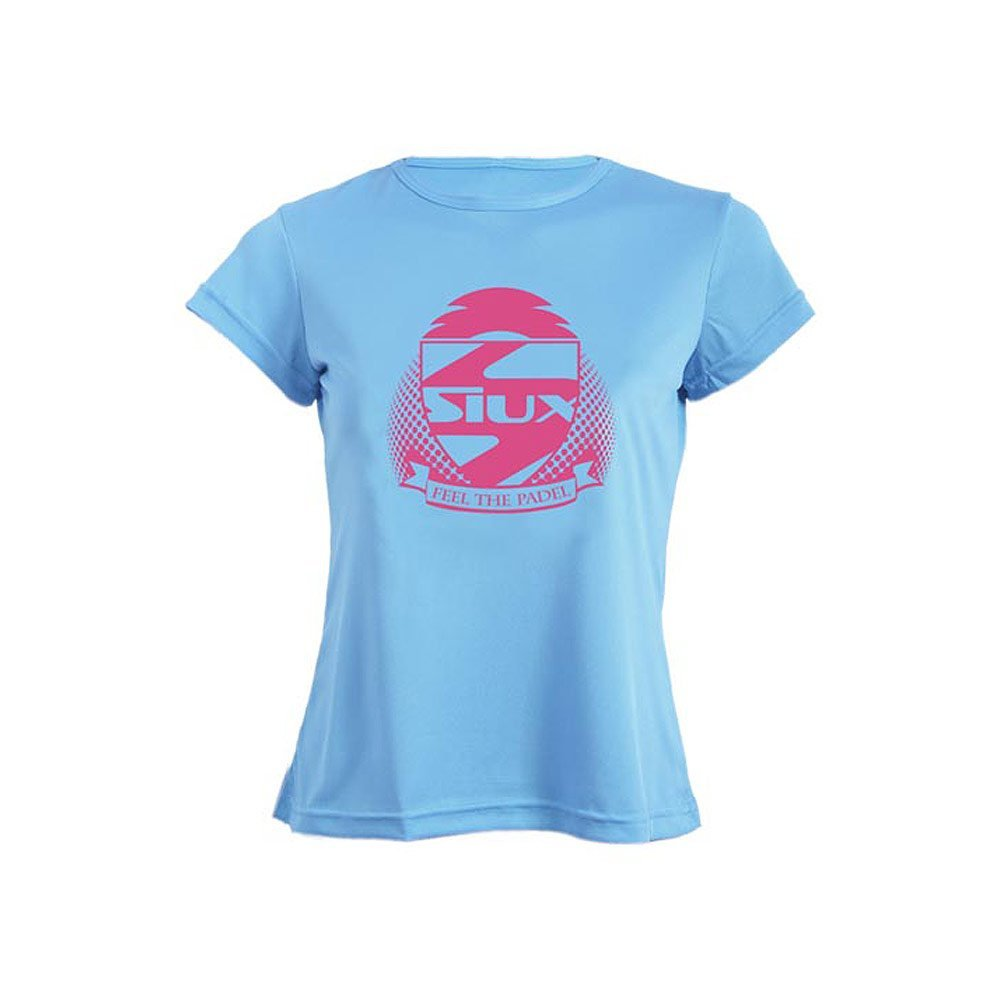 Siux Camiseta Mujer Entrenamiento Celeste: Amazon.es: Deportes y aire libre