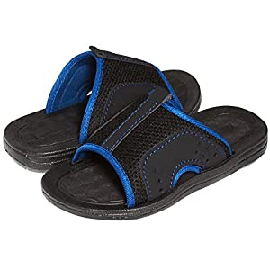 Skysole Boys Open Toe Rugged Mesh Slide Sandals (See More Colors and Sizes)