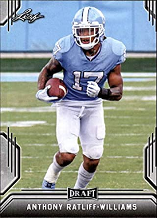 06f79d6e8e4 Amazon.com: 2019 Leaf Draft Football RC Rookie Card #4 Anthony  Ratliff-Williams North Carolina Tar Heels: Collectibles & Fine Art