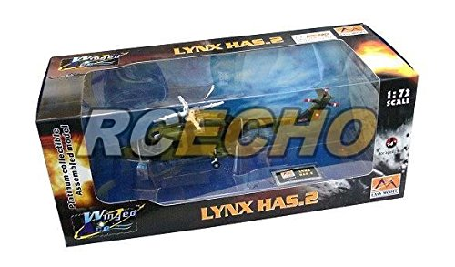 RCECHO® EASY MODEL Helicopter Model 1/72 Lynax Has.2 Northern Ireland 37092 E7092 with RCECHO® Full Version Apps Edition