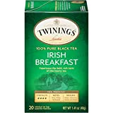 Twinings of London Irish Breakfast Tea, 20 Count (Pack of 6)