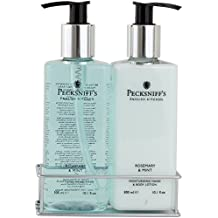 Pecksniffs Rosemary and Mint Two Piece Set Hand Wash and Body Lotion